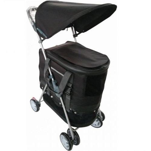 Topmast-hondenbuggy-zwart-afneembare-tas-800x500