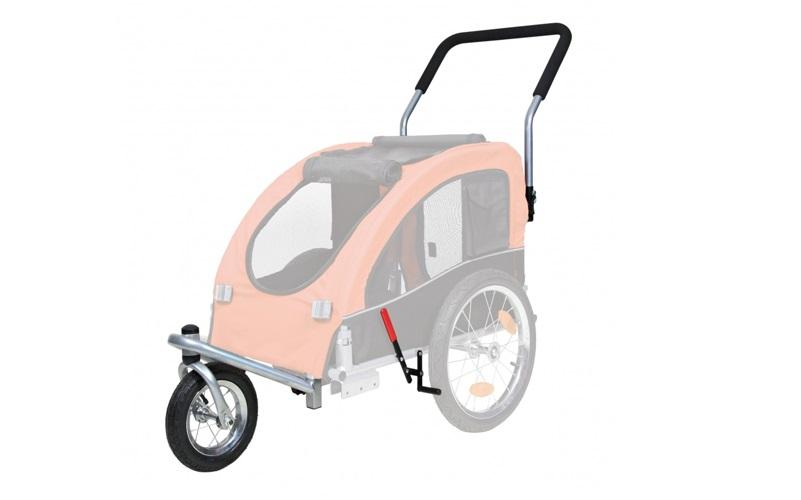 Trixie-hondenfietskar-Buggy-stand-1