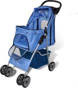 VidaXL-Hondenbuggy-blauw-800x500 2
