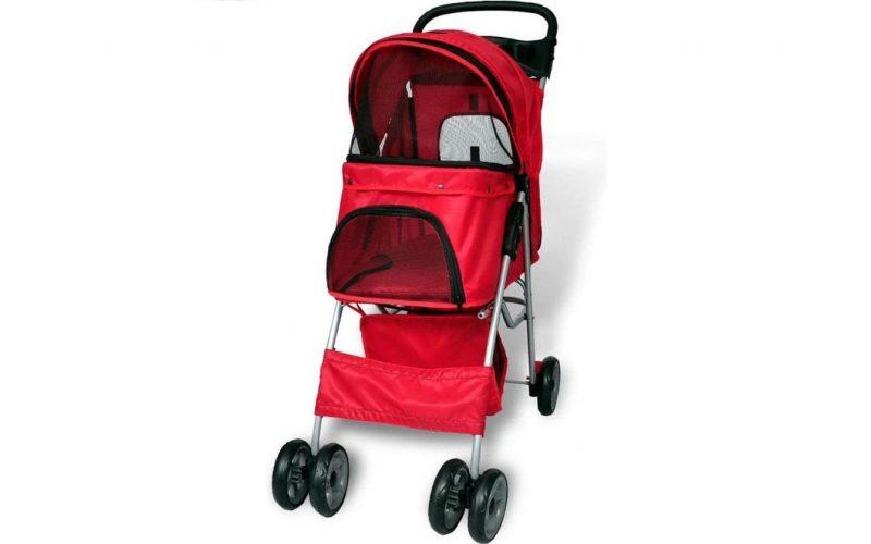 VidaXL-Hondenbuggy-rood-800x500