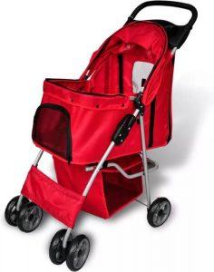 VidaXL-Hondenbuggy-rood-800x500 2