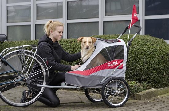 innopet hondewnkar spoty dog trailer deluxe review